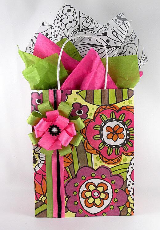 Doodle Garden Gift Bags