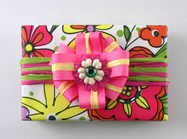Doodle Garden Gift Wrap