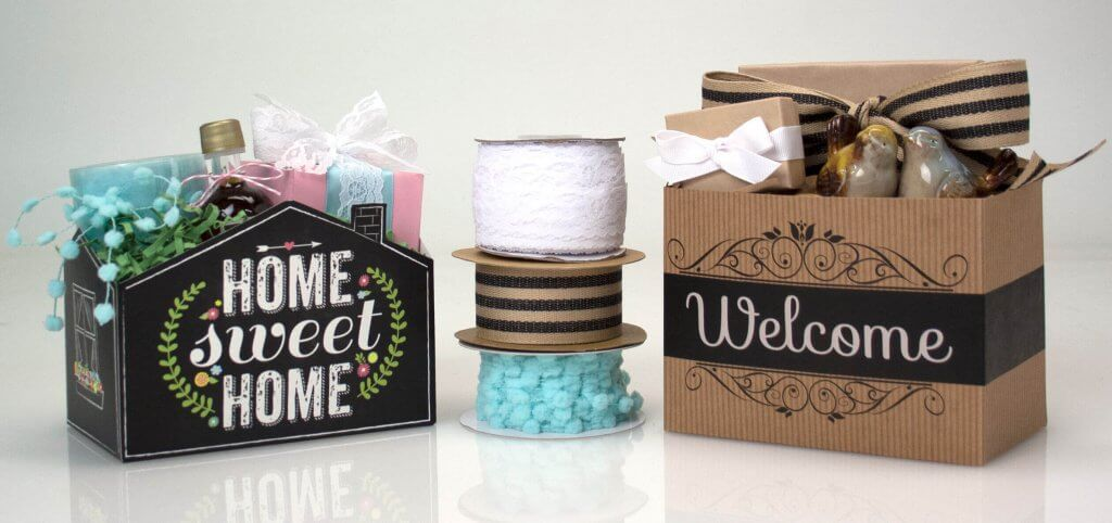 New Home Gift Basket Boxes