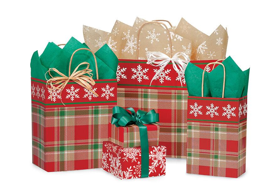 Christmas-Plaid-Shopping-Bags
