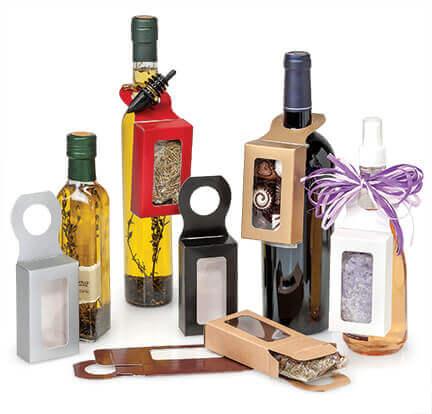 Bottle Hanger Favor Boxes