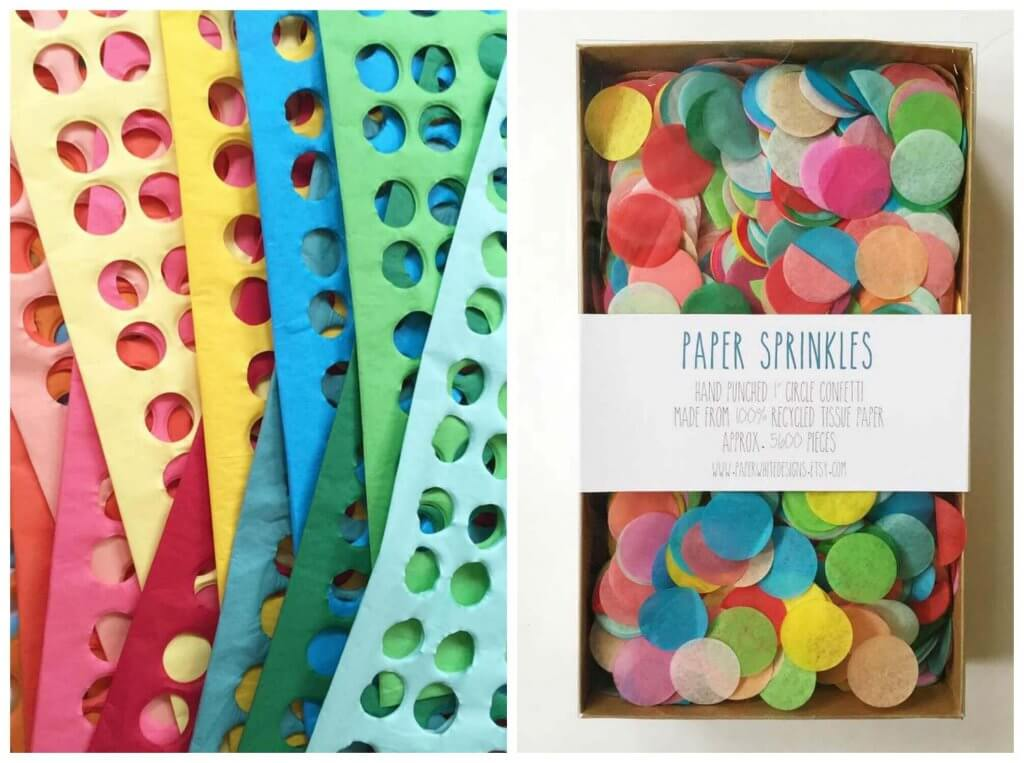 Paperwhite Designs Paper Sprinkles