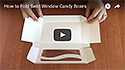 How to Fold Swirl Window Candy Boxes