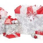 Christmas Snowflakes Shopping Bags