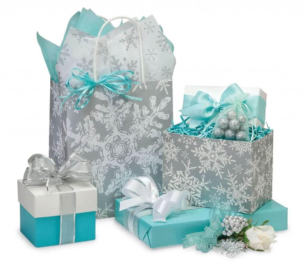 Christmas Snowflake Gift Bags