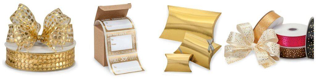 Gold Metallic Packaging