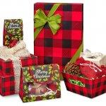 Buffalo Christmas Plaid Gift Wrap Boxes