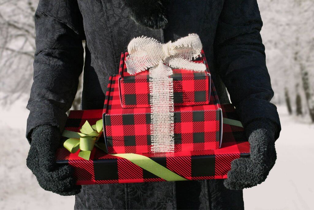 Buffalo Plaid Wrapping Paper Christmas