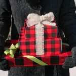 Buffalo Plaid = Rustic Holiday Wrappings
