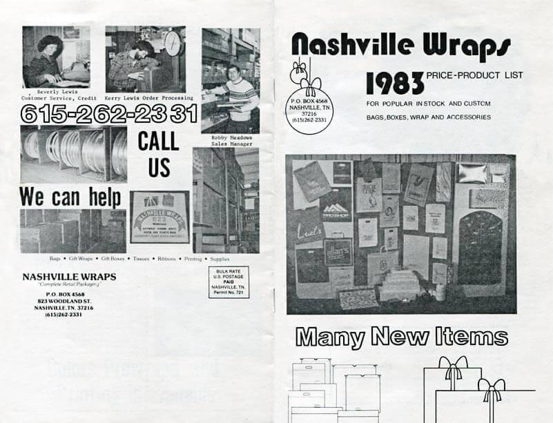 Nashville Wraps catalog