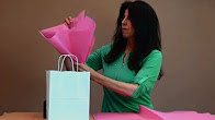 How to Add Tissue to a Gift Bag