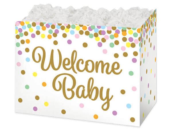 Baby Confetti Basket Boxes