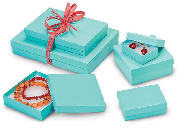 Aqua Blue Jewelry Boxes