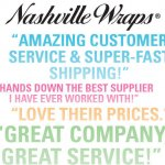 Nashville Wraps' Rave Reviews