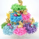 Easter Gift Baskets Go Green with Eco-Friendly, Recycled Shred