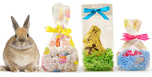 Easter gift baskets go green with eco friendly recycled shred save negle Images