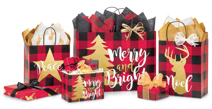 Buffalo Plaid Gift Packaging