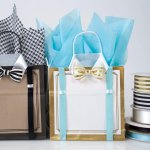 Dressed-Up Duets Shopping Bags for Father's Day