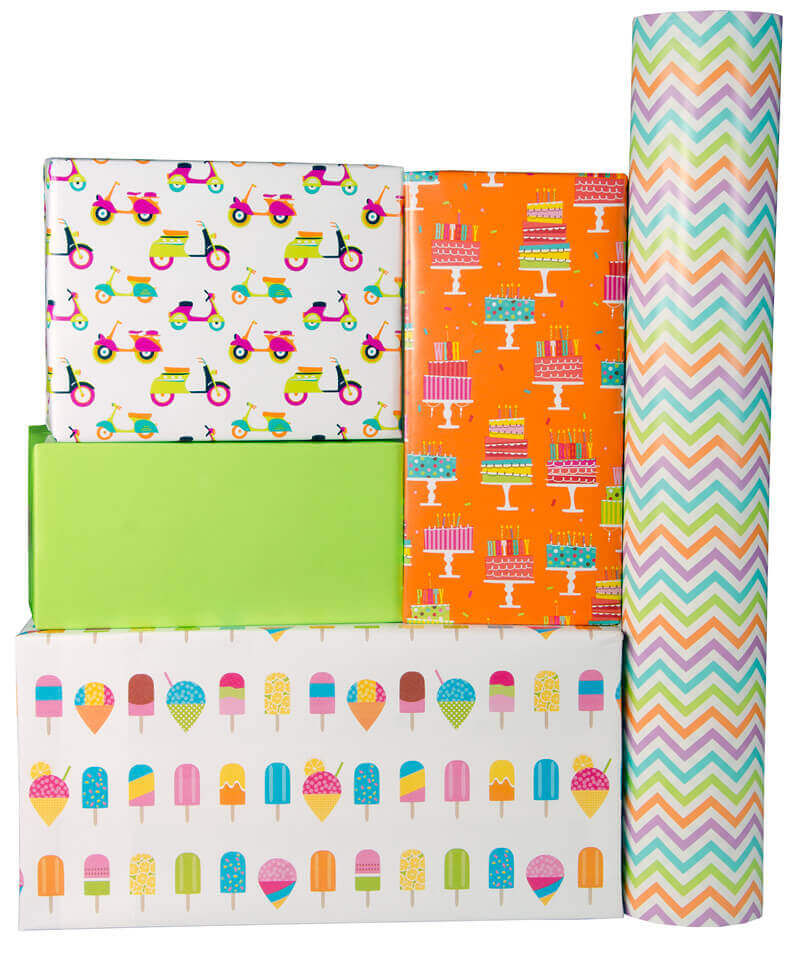 Sullivan Gift Wrap Birthday