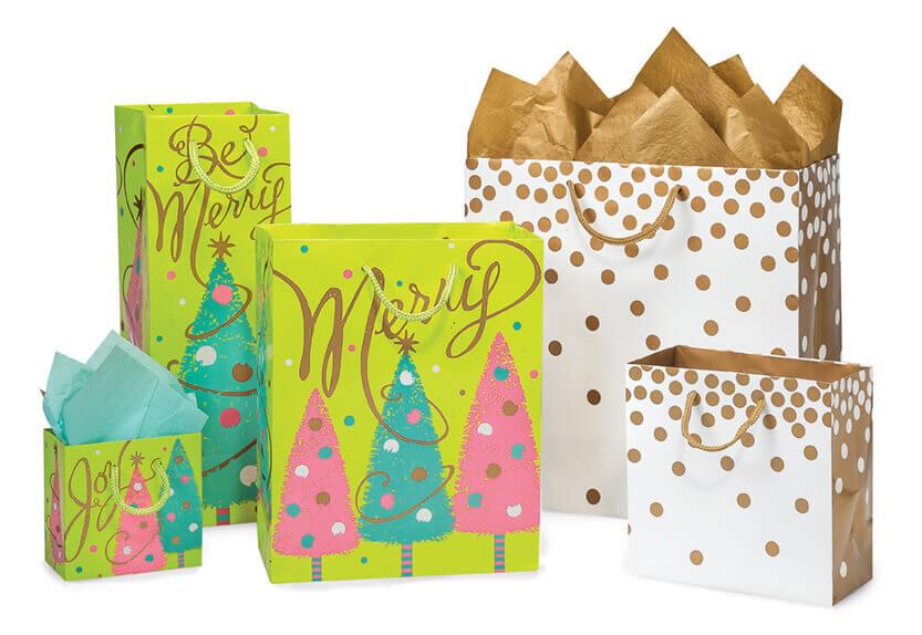 Printed Eurotote Gift Bags