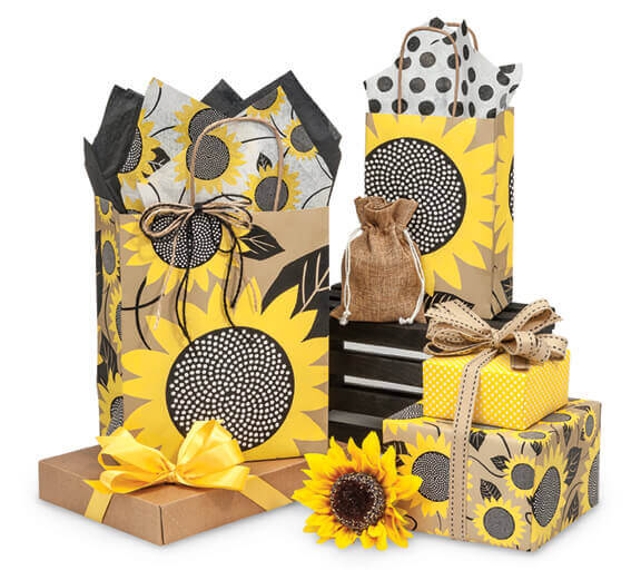 Sunflower Bags Wrap