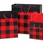 Buffalo Plaid Gift Bags