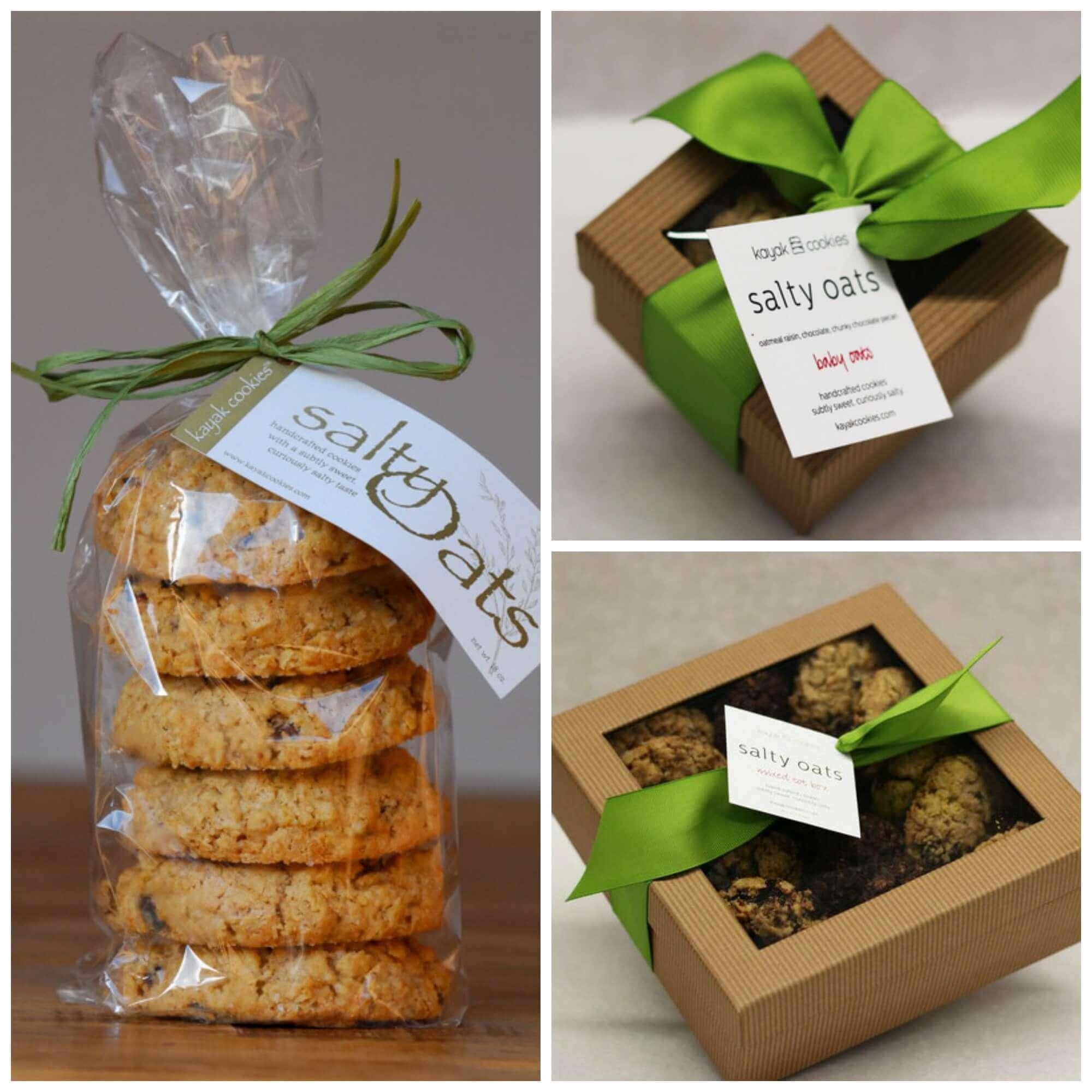 Kayak Cookies - Cape Cod's Best Salty Oat Cookie ... Oatmeal Chocolate Chip Cookies Packaging