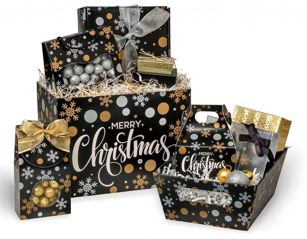 Merry-Christmas-Black-Basket Boxes