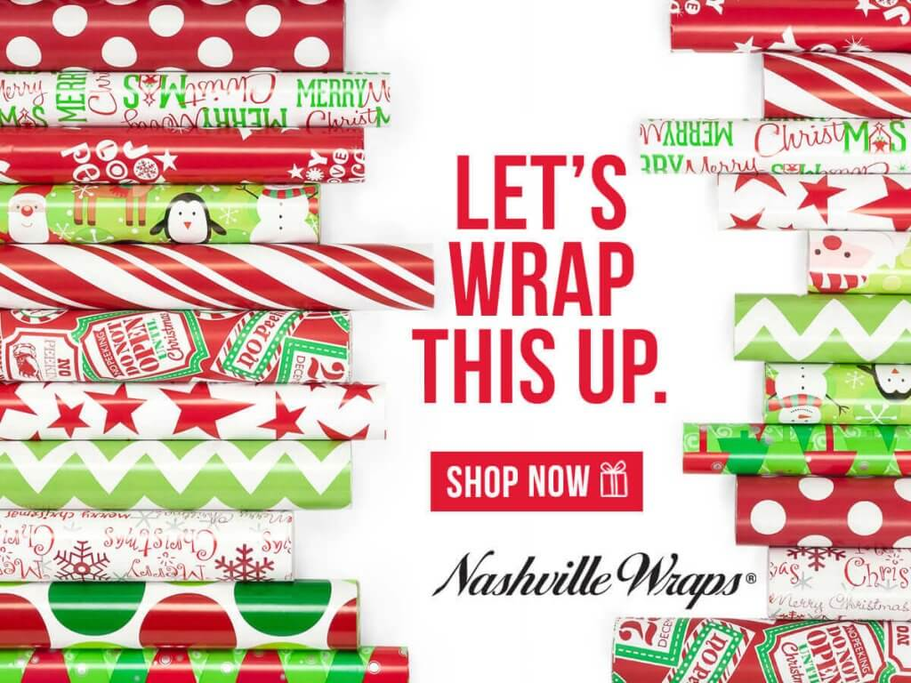 Christmas Gift Wrap Nashville Wraps