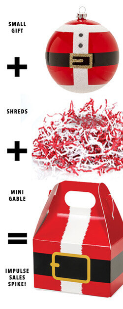 Quick Mini-Gable Box Impulse Sale