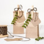 Turn Coffee Bags Into Sweet & Simple Favor Bags