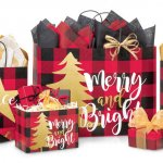 Nashville Wraps Buffalo Plaid Christmas Gift Boxes, Bags, and Wrapping Paper