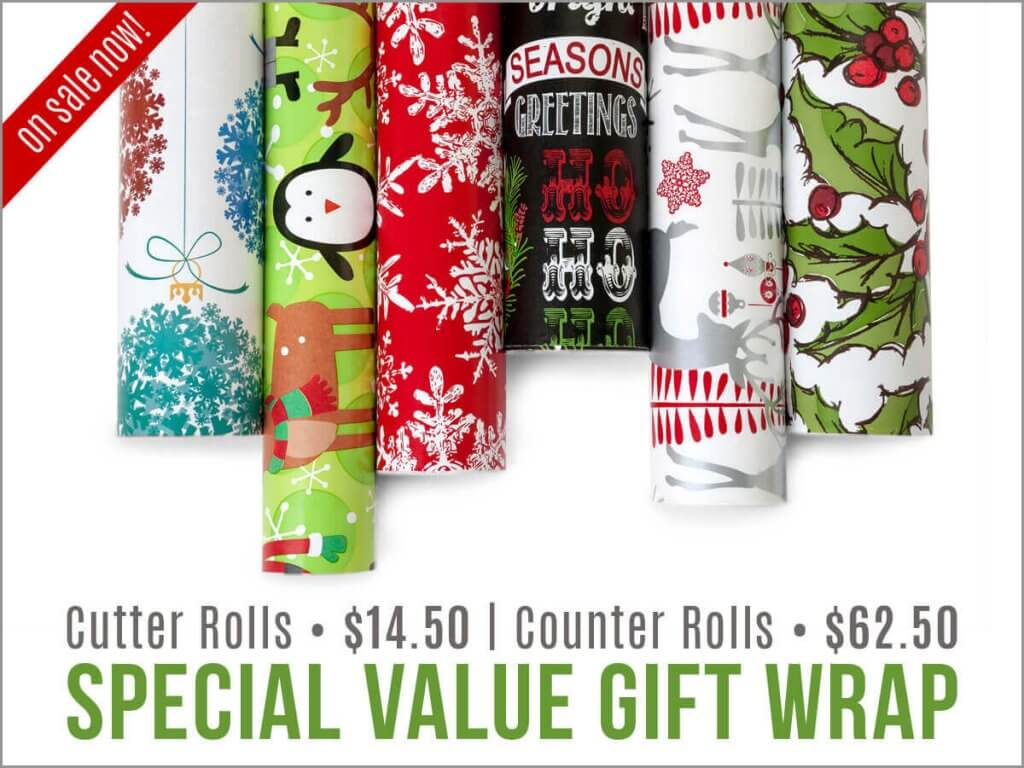 Christmas Gift Wrap Sale