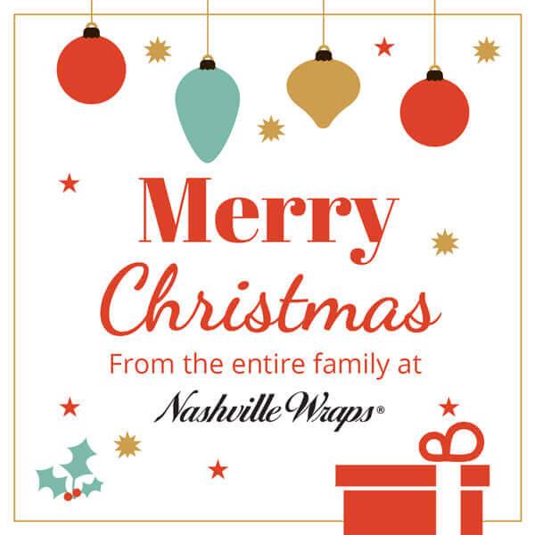 Nashville Wraps Merry Christmas