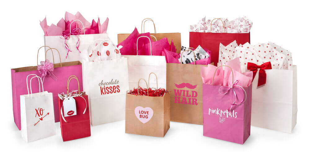 Valentine Shopping Bags