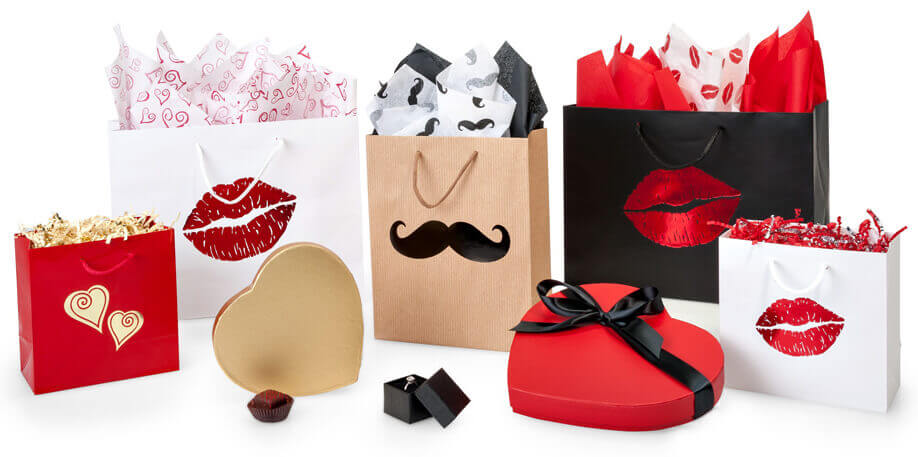 Nashville Wraps New Valentines Day Gift Bags, Boxes, Bouquet Packaging and More!