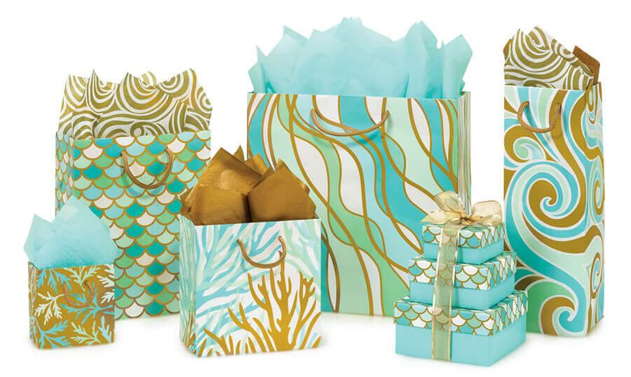 Coastal Paradise Gift Bags