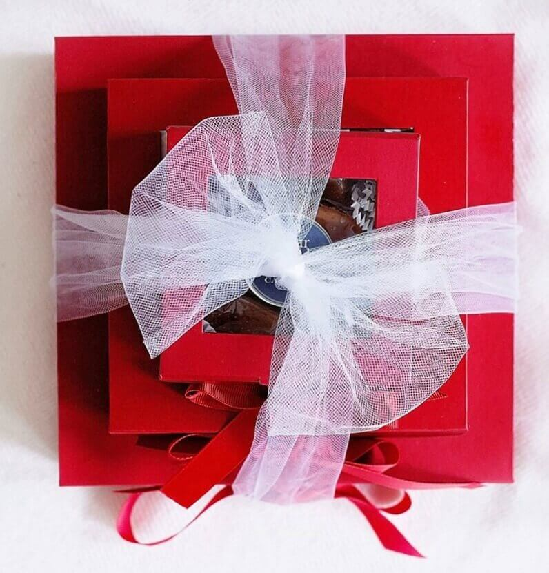 Sugar Wood Gift Boxes