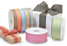 Grosgrain Striped Ribbon