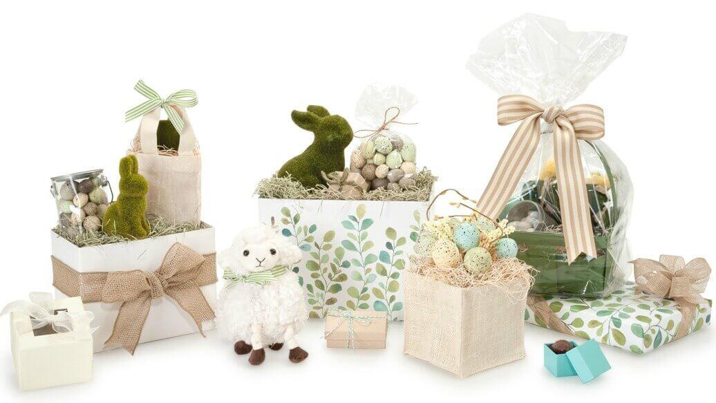Easter Gift Basket Packaging