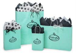 Hot stamped shopping bags to make any Nashville Wraps gift bag all your own