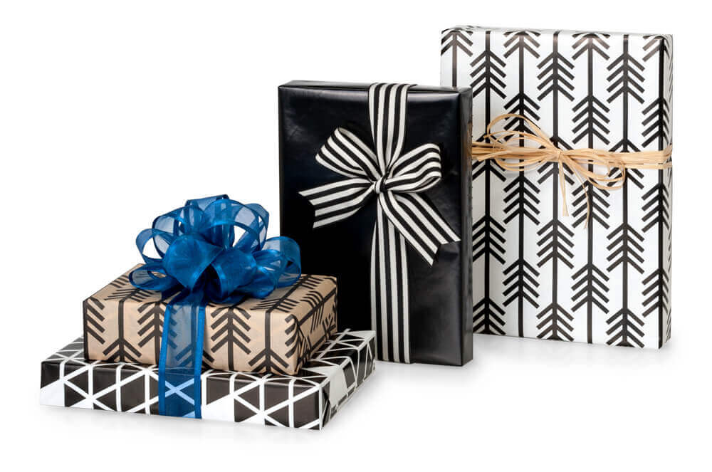 Kinetic Ink Gift Wrap