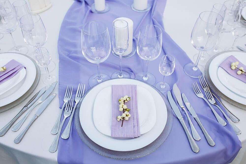 Lavender Wedding Favor Packaging from Nashville Wraps