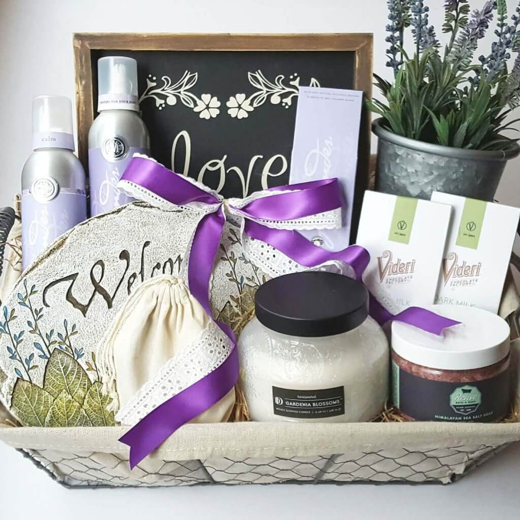 A Welcome Gift Basket by Gift Baskets by Melissa