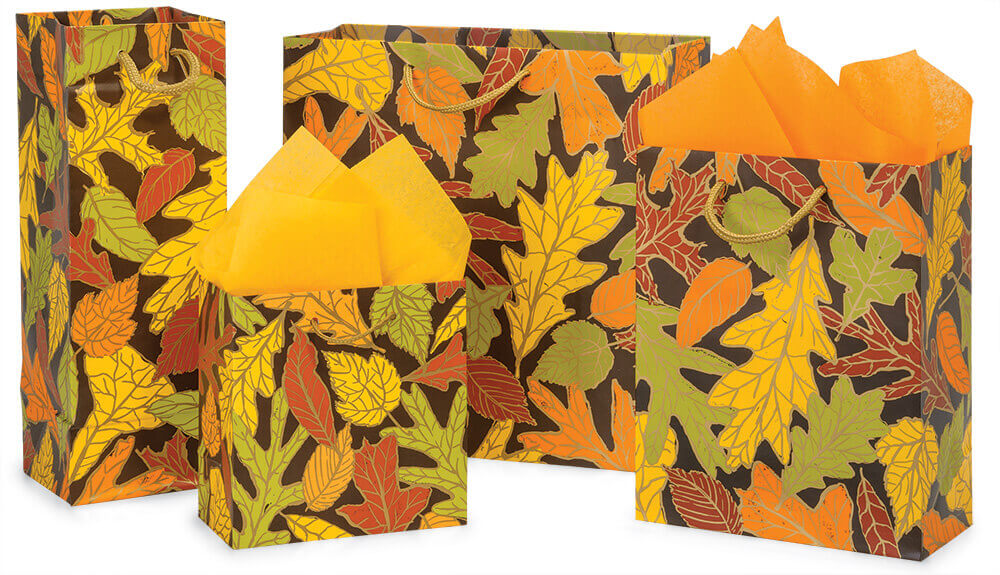 Autumn Leaves Fall Packaging by Nashville Wraps