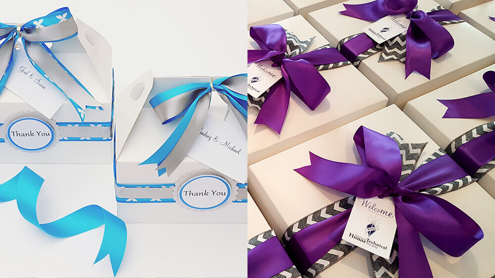 Beautiful Gift Boxes by Gift Baskets by Melissa