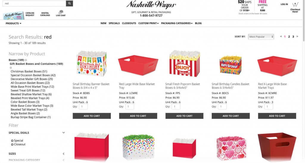 Shop by Color on the Nashville Wraps website