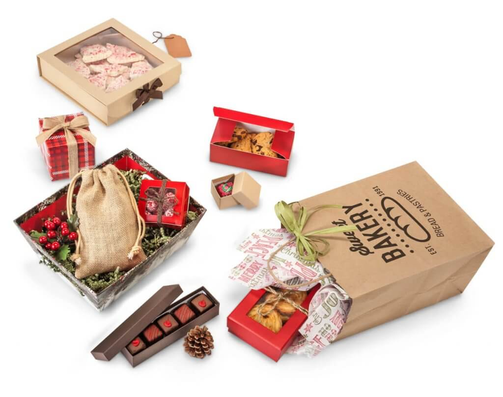 Gourmet Christmas Packaging from Nashville Wraps