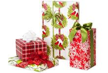 Premium Green Way Christmas Gift Wrap