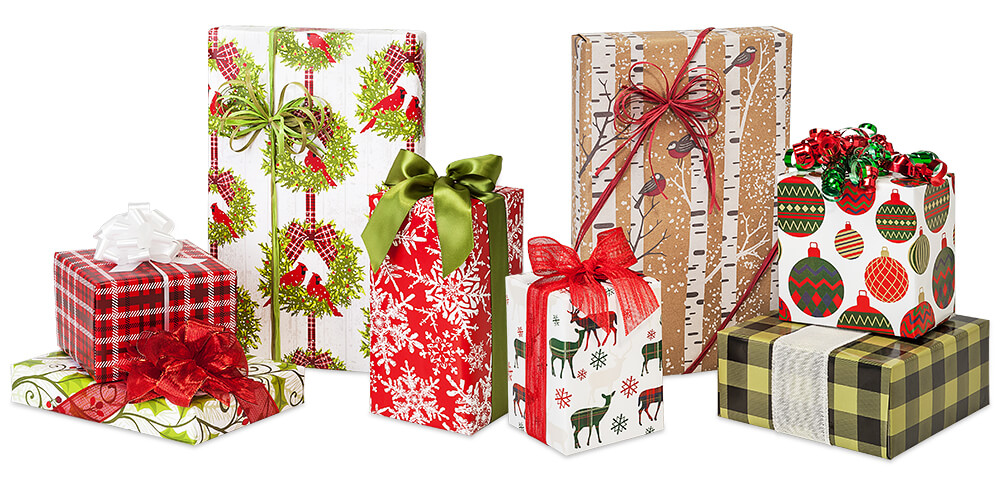 Christmas Gift Wrap from Nashville Wraps